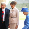 After tea with Queen Elizabeth, Trump flies to Scotland for some golf