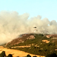Residents allowed return to their homes as Bray Head fire under control