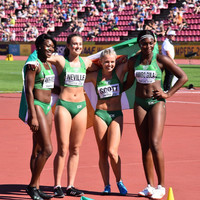 History makers! Ireland women's relay team take silver medal at World U20 Championships