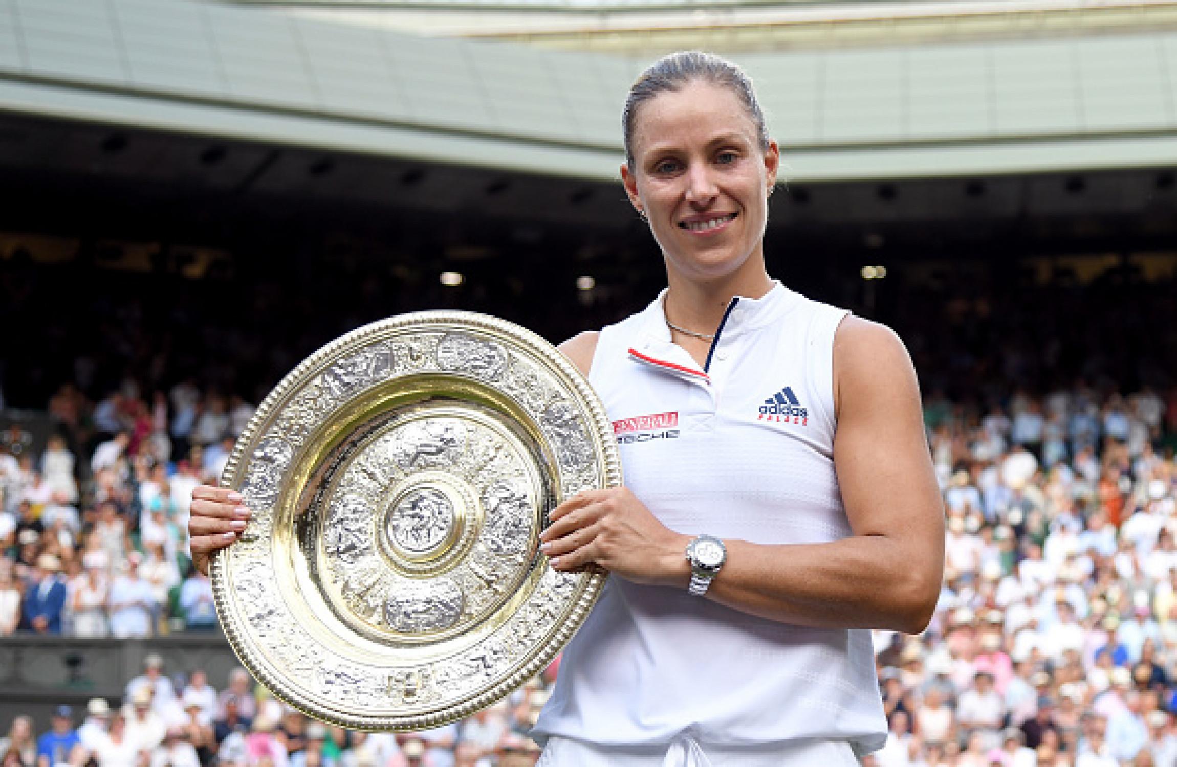 Watch Angelique Kerber 3 Grand Slam singles titles video