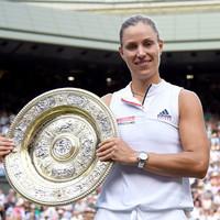 Kerber stuns Serena's history bid in Wimbledon final as German records first ever title