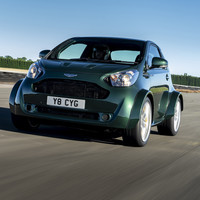 Check out this bonkers V8-powered city car from Aston Martin