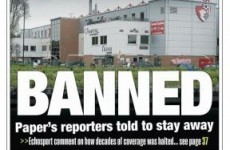 Newspaper responds to being banned by football club... by banning football club
