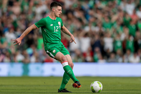 Ireland's Declan Rice is considered an exciting prospect for the future.