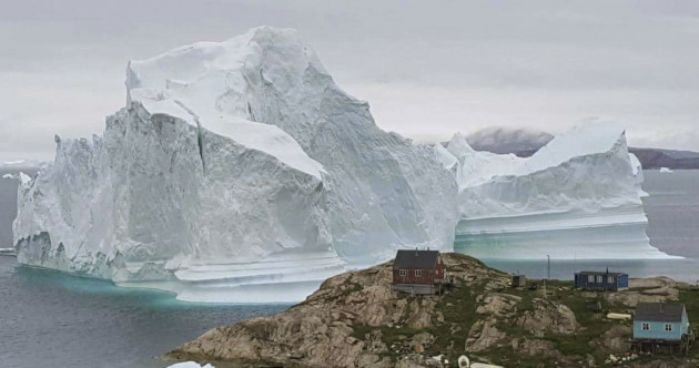 Greenland villagers moved to higher ground as vast iceberg threatens flooding