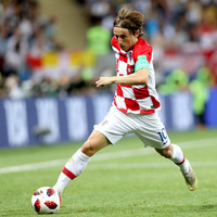 Consolation for Luka Modric as he wins World Cup Golden Ball