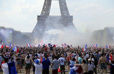 Party begins as delirious French revel in World Cup victory