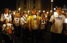 Church abuse victims march on the Vatican