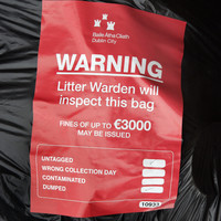 Just 93 prosecutions after 6,000 rubbish bags dumped in Dublin city's 'worst litter blackspot'