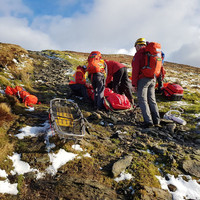 Hikers warned of 'heat exhaustion' as warm spell leads to spike in mountain rescue callouts