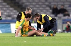 Crocked: Michael Murphy has no idea when he'll be able to play again