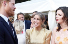 Amy Huberman has been spilling some tea on the royals after meeting Prince Harry last week