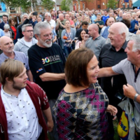 'They are against their own people': McDonald slams those who attacked Gerry Adams' home