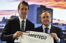 Familiarity with Real Madrid an advantage, says Lopetegui as he fills Zizou's shoes