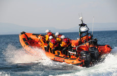 Father and sons saved by lifeboat after getting caught in rip current