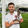 Dundalk striker's stellar form sees him land LOI Player of the Month award
