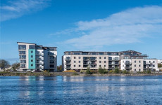 Spacious three-bed apartment with riverside views for €235,000