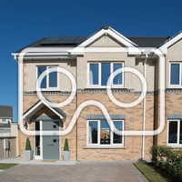 Clean design and lots of natural light in this A-rated Kildare home