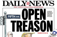 'National embarrassment' - America's front pages were brutal in tearing Donald Trump apart today