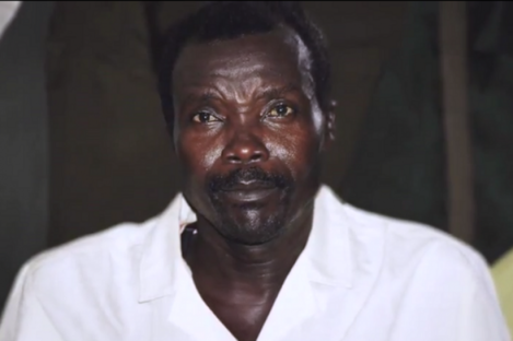 Infamous Ugandan guerilla warlord Joseph Kony, the subject of Invisible Children's best-known work.