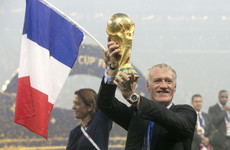 Franz Beckenbauer welcomes Deschamps to special club of World Cup winners