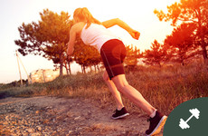 Short and sweet, but effective! Try this intense 20-minute hill sprint and core workout