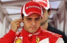The only way is up for embattled Felipe Massa