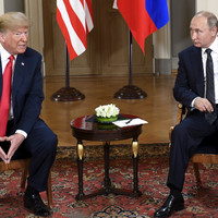 Trump says no US president has been as 'tough' as him on Russia