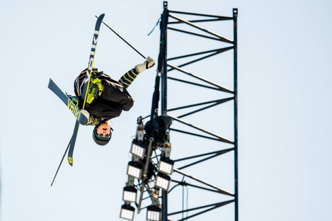 Norway's Felix Usterud in action during the big air competition at the X Games this year.