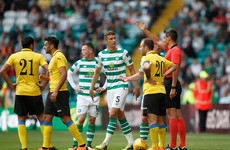 Early red card can't derail Celtic's progress as Dembele sets up Rosenberg clash