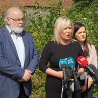 Sinn Féin says Theresa May will hear of 'catastrophic implications' of Brexit during her Irish border visit
