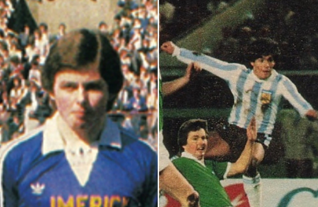 I Played For That Jersey The Limerick Lad Who Marked Maradona And Battled Real Madrid In The European Cup