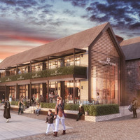 A disused quarter of Dundrum Town Centre has been cleared for a revamp