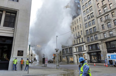 Massive steam pipe explodes underneath New York's Fifth Avenue