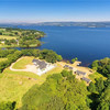 Eight bedrooms and your own private pier on the shores of Lough Derg