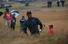 Rollercoaster Open round is no fun ride for Tiger