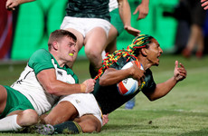 Dominant South Africa rout Ireland at RWC Sevens