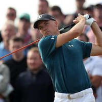 Champion Spieth in three-way tie for the lead as Woods and McIlroy remain in Open contention