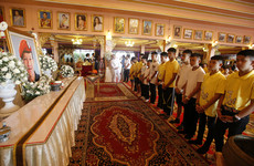 Members of rescued Thai soccer team to be ordained in Buddhist ceremony