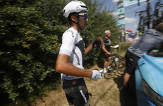 Team Sky's Moscon thrown off Tour de France for act of 'serious aggression' toward another rider
