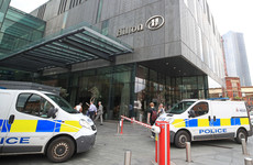 Woman stabbed in the neck in Manchester hotel