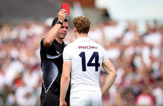 Cian O'Neill: 'Another shocking decision, which wasn't the referee's call, to send a player off'