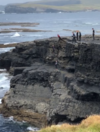 'Extremely dangerous': Warning after children seen 'tombstoning' from Co Clare cliffs