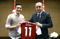 'It is not possible to accept this kind of racist attitude': Turkish president Erdogan issues support for Ozil