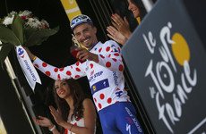 Frenchman Alaphilippe takes advantage of late crash to claim stage 16 of Le Tour