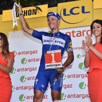 Crash throws Gilbert over a wall and out of Le Tour with fractured kneecap
