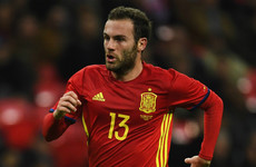 United's Mata hoping to end his Spanish exile under new boss Luis Enrique