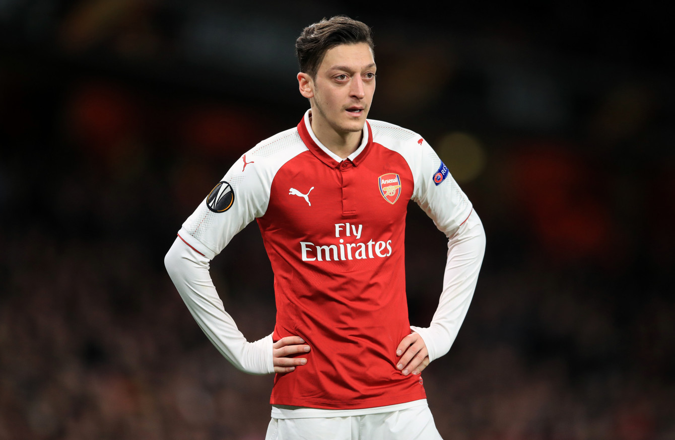 b0ea8a54f Arsenal boss Emery says Ozil has  respect of every player  and will ...