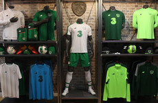 Exclusive first look at the new Republic of Ireland away kit