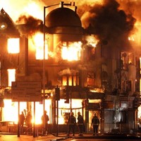 Rioter gets 11.5 year jail term for starting riots fire